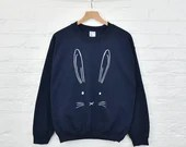 Easter Bunny Jumper - Easter Gifts - Easter Bunny - Women's Fashion - Women's Sweatshirt - Animal Print - Gift For Her [JMPE-001]