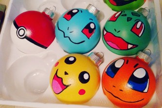 "Pokemon Christmas Ornaments - With the popularity of Pokémon not only reaching kids and teens but also spanning to adults, I'm sure there is a Pokémon lover in your life that ""needs"" one of these gifts. thekeeledeal.com"
