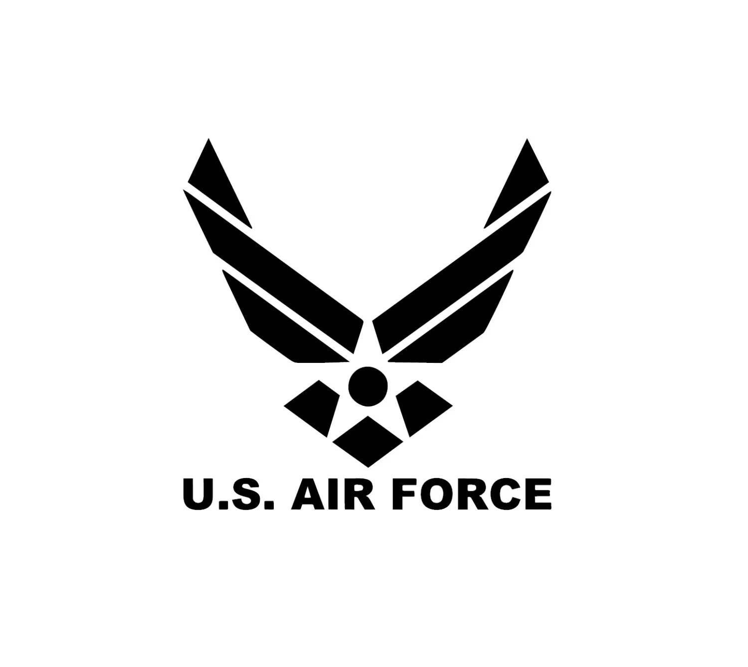 Air Force Decal 1 Free Shipping Jeep Truck ATV UTV Mudding