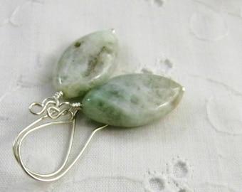Pale Green Semi Precious Gemstones Etsy