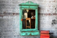 Medicine Cabinet Hanging Cabinet Bathroom Cabinet Reclaimed