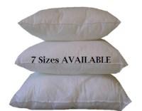 Outdoor Pillow Form 22 x 22 Pillow Insert by ...