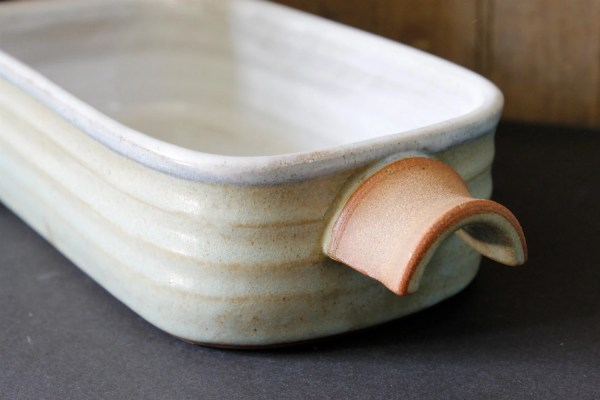 Ceramic Bread Pan Pottery Loaf Baking Dish