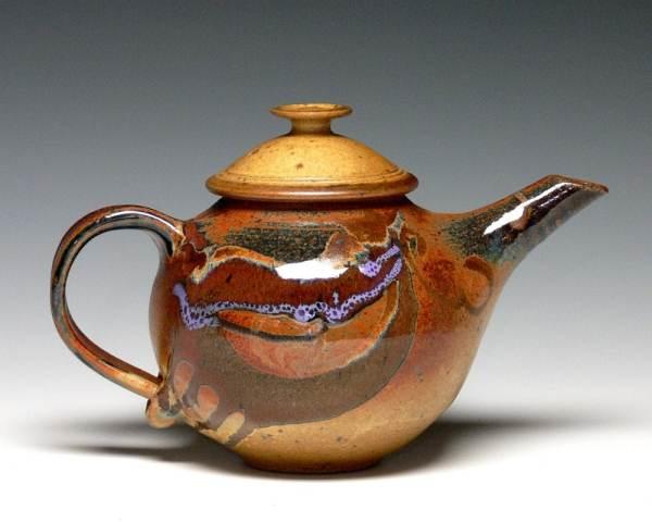 Handmade Teapot Pottery Stoneware Ceramic
