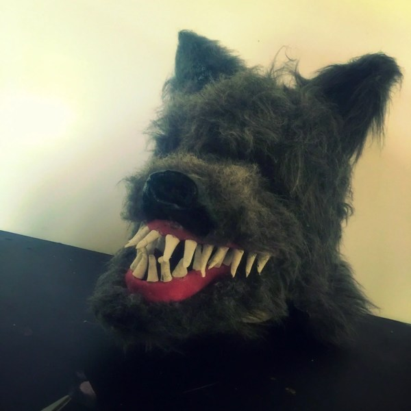 Mens Werewolf Mask Wolf Cosplay Full Head Dog Costume