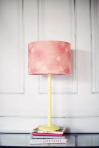 Pink lamp shade pink lighting pink table lamp pink floral