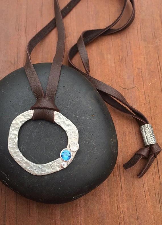 Handmade Silver Clay Circ...