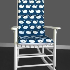 Childrens Rocking Chair Cushions Steel Price In Chennai Kids Nursery Room Cushion Cover Whales