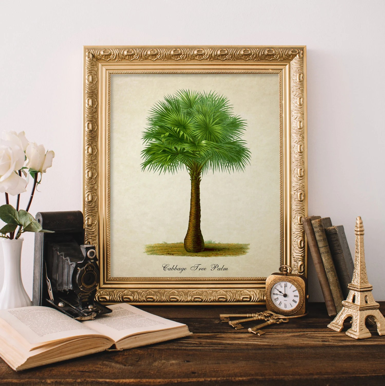 palm tree kitchen decor trash can pull out home 28 images