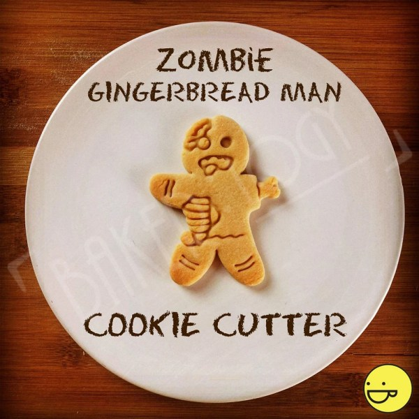 Zombie Gingerbread Man Cookies Cutters Biscuits Bakerlogy