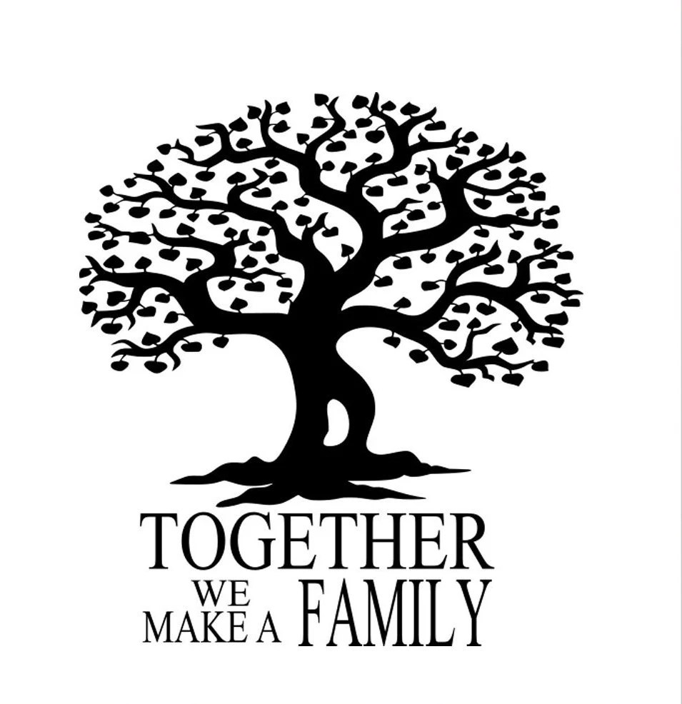 Family Tree SVG,EPS Png DXF,digital download files for
