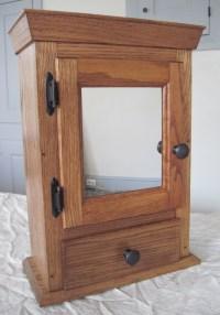 Golden Mission Oak Medicine Cabinet