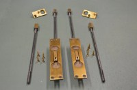 French Door Hardware & Gray French Doors With Brass French ...