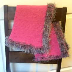 Wheelchair Blanket Low Chairs Knit Baby Stroller Lap Or Blankie In