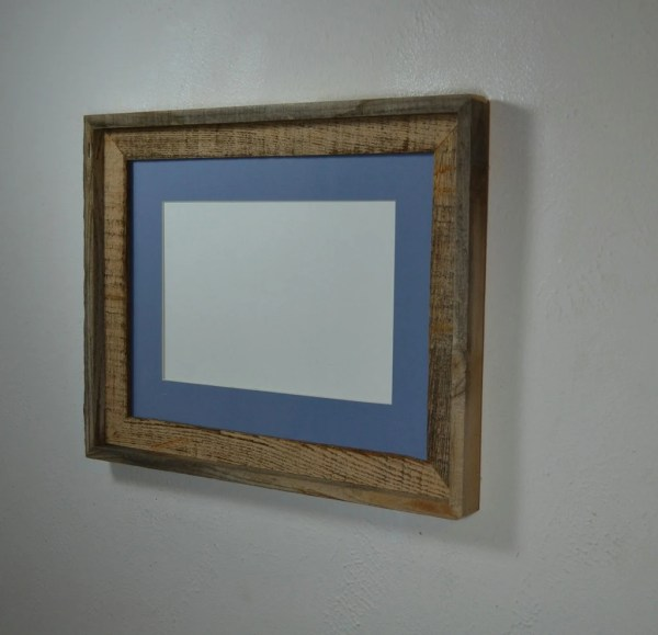 12x16 Frame Reclaimed Wood With Beautiful Patina And 8x12