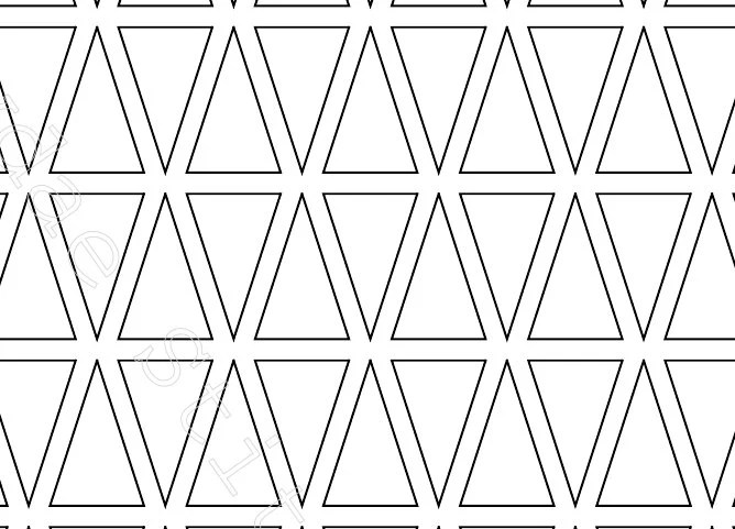 30 Degree Isosceles Triangle English Paper Piecing Template