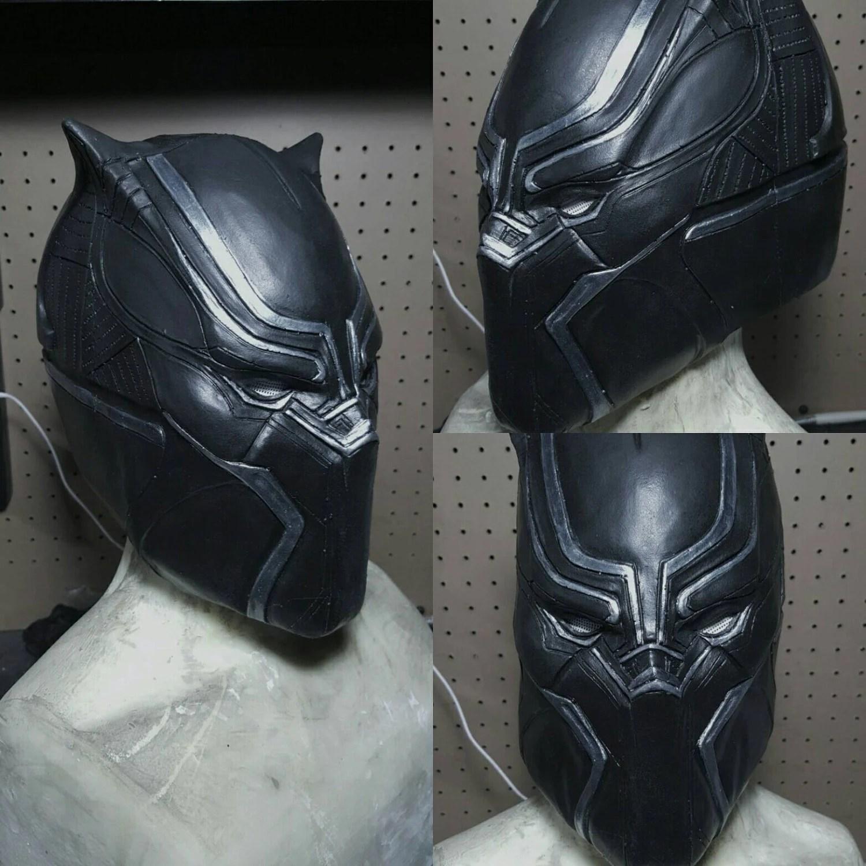 Black Panther Latex Mask