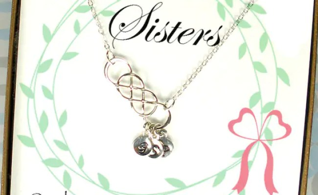 Personalized Sister Gifts Personalized By Starringyoujewelry