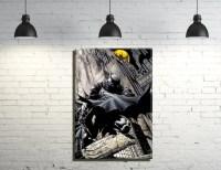 Batman framed Canvas Wall Art by WallArtPrints1018 on Etsy