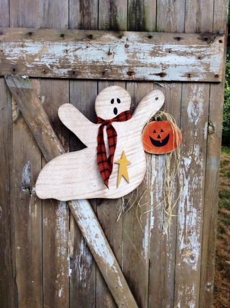 primitive halloween decor Primitive Primitive halloween decor Primitive Ghost Door