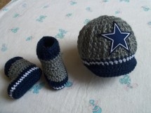 Dallas Cowboy Crochet Baby Hats Year Of Clean Water