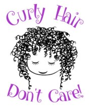 curly hair don't care split font