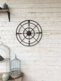 Nautical Wall Decor Metal Compass Wall Art Nautical Wall