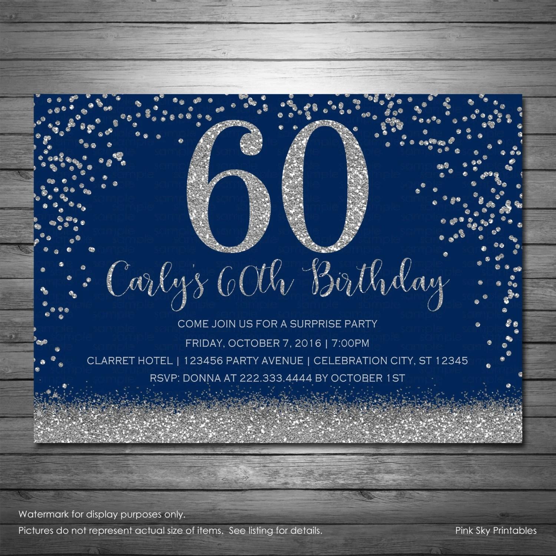 40th Birthday Personalized Photo Invitation Printable File