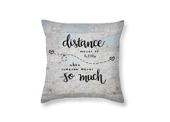Pillow Long Distance Relationship Pillows