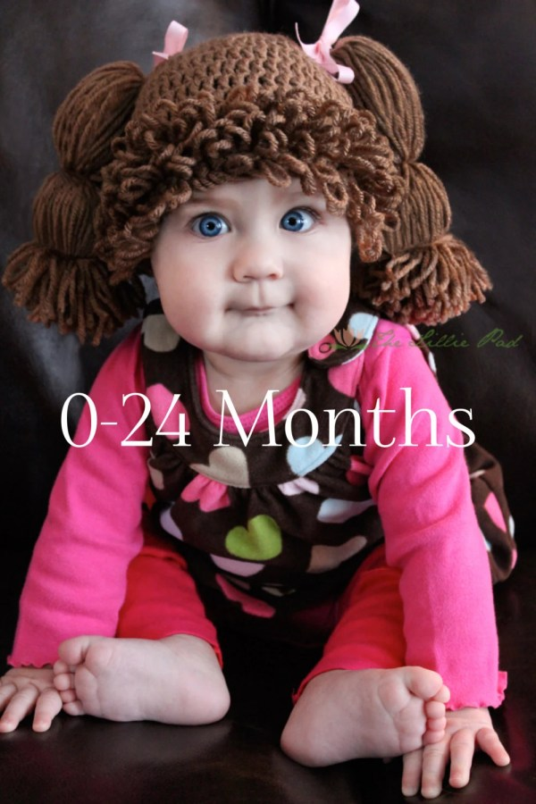 Cabbage Patch Kid Hat Wig Baby