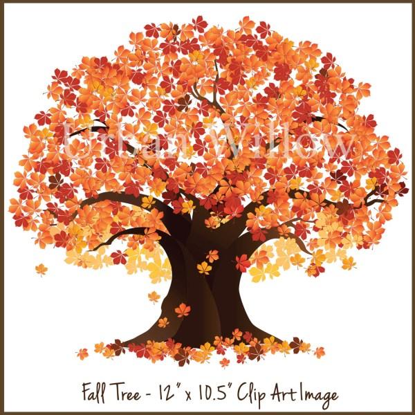 Tree Clip Art Fall Trees Autumn Clipart Maple