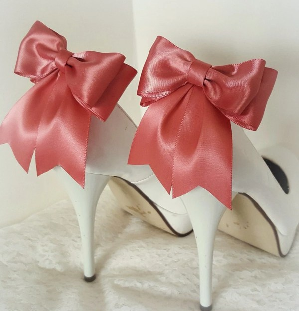 d7ec41a0dff41 20+ Bridesmaid Coral Wedding Shoe Clips Pictures and Ideas on Meta ...