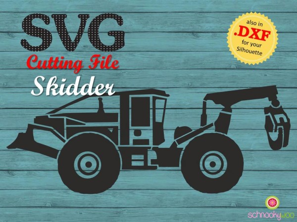 Skidder Svg Grapple Forestry Machine