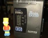 Lloyd's Electronics PS882 // 3 Band EQ Vintage Retro Walkman Cassette Tape Player & AM/FM Radio // Sony Analog Digital vibes kush vaporwave