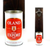 Wall Mounted Canada Beer Bottle Opener With A Vintage Oland