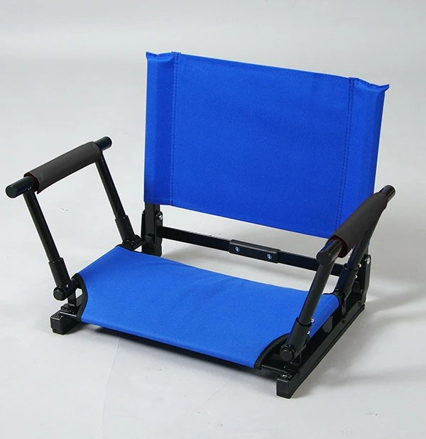 Stadium Chair Seat with Custom Embroidery Available in
