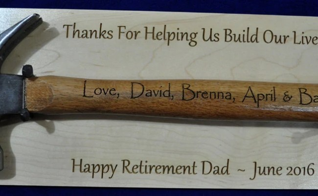 Retirement Gift For Dad Personalized Retirement Gift
