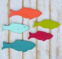 Wooden Fish Wooden Fish Decor Wood Fish Wall Art by ...