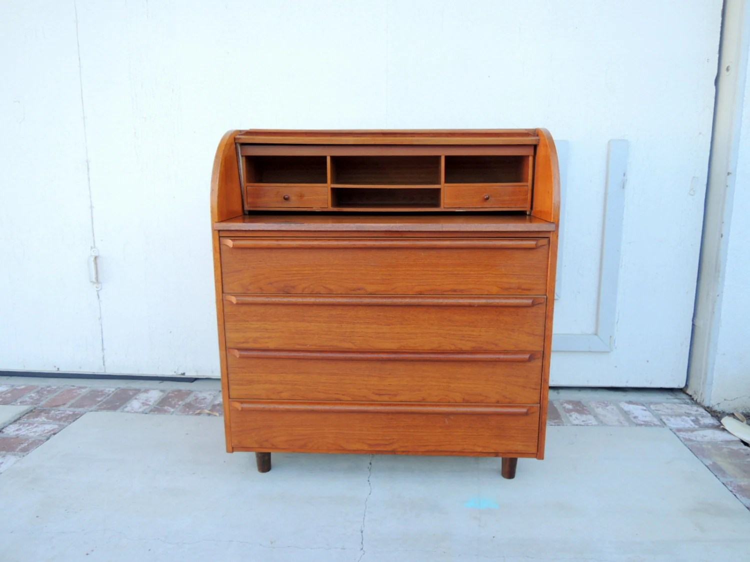 Mid Century Modern Roll Top Desk Drawer Lo Angeles Haute Juice Modern Roll Top Desk Ideas