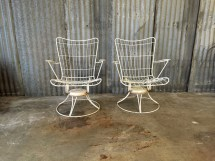 Midcentury Patio Chairs Homecrest Vintage Rocking Chair