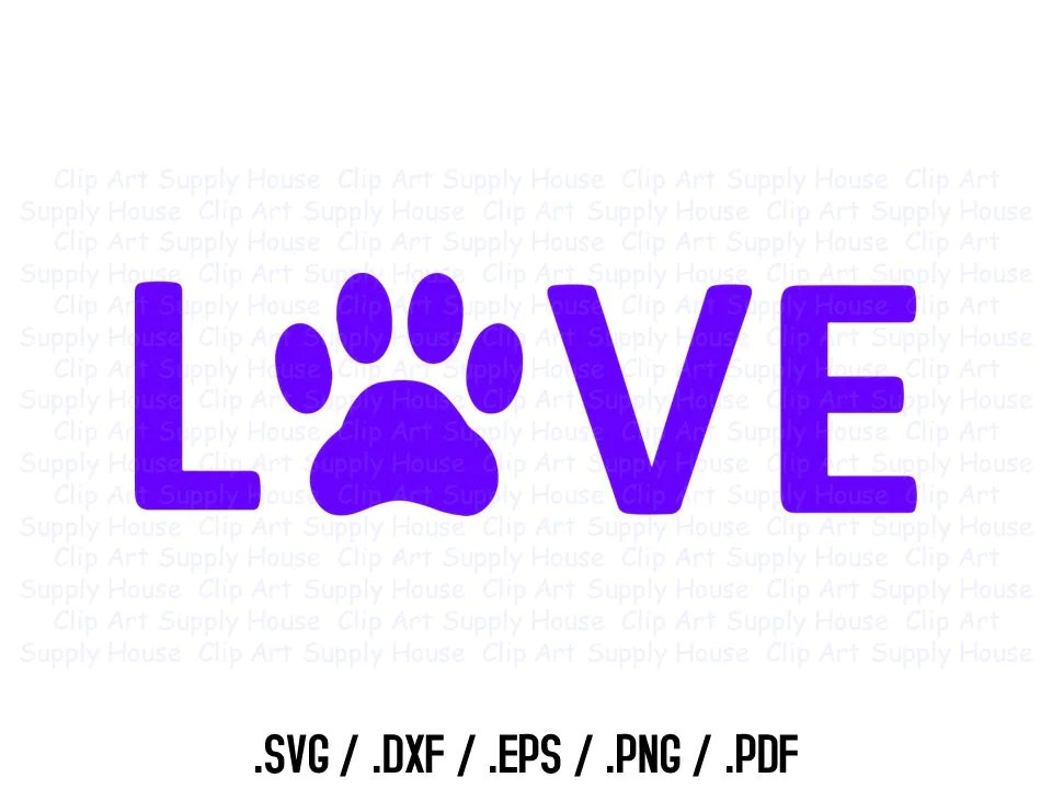 Download Animal Pet Love SVG Clipart SVG Office Wall Art Pet SVG