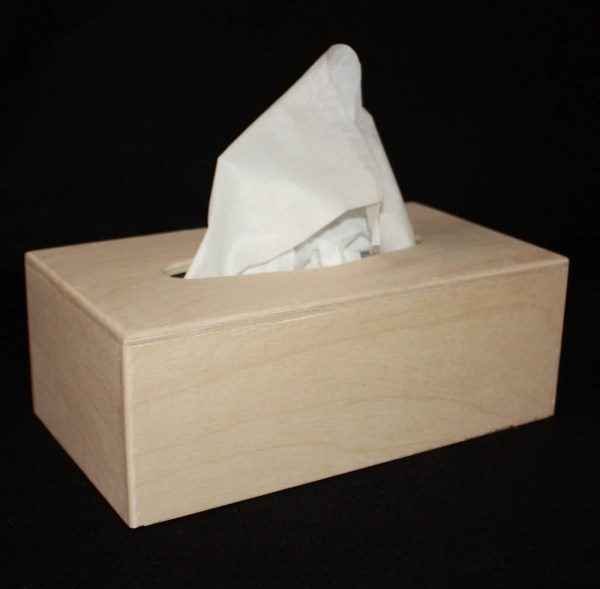 Rectangular Wood Tissue Boxrectangle Wooden Box