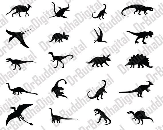 Dinosaur SVG Collection Dinosaur DXF Dinosaur Clipart T