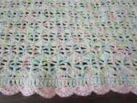 Easy Crochet Blanket Pattern, Blooming Shell Stitch ...