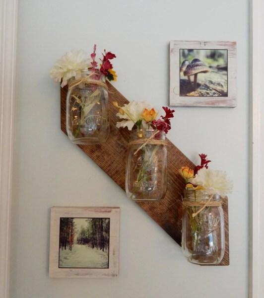 rustic mason jar wall decor mason jar decor. Wall decor. Home accents. Rustic
