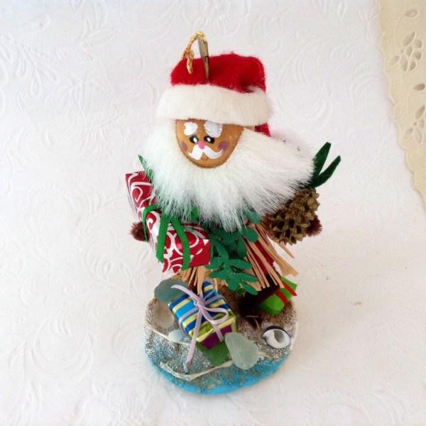 Hula Santa Hawaii St Nick Original Christmas Ornament