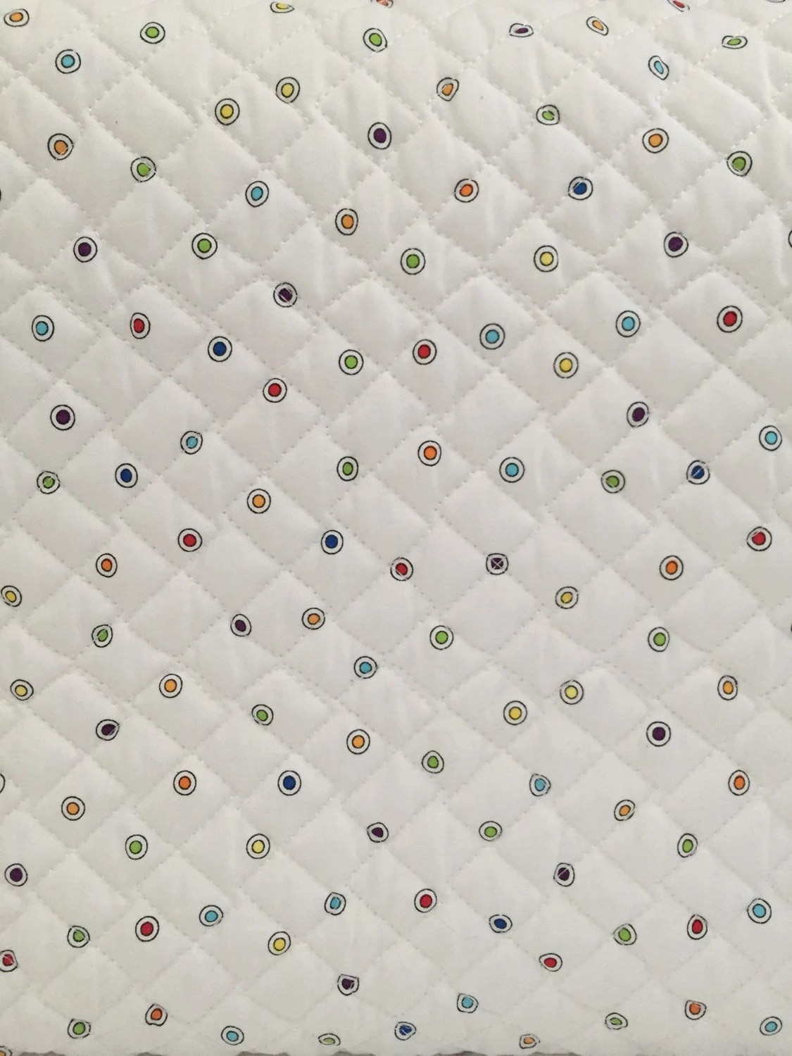 Diamond Back Double Faced Quilted Fabric by