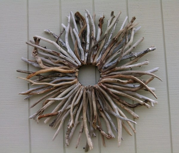 Large Driftwood Wreath Wall Hanging