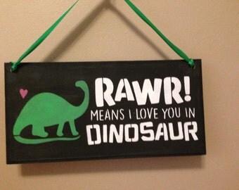 Download Rawr means I love you svg cut file svg eps dxf jpeg digital