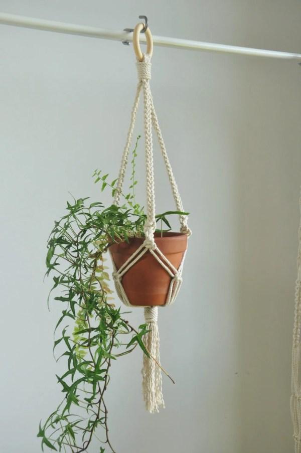 Macrame Plant Hanger Indoor Garden Pot Holder Hanging